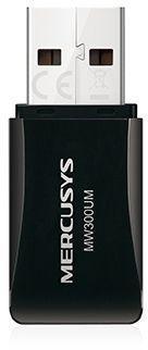 Беспроводной USB адаптер Mercusys MW300UM 300Mbps wertmark бра wertmark we402 02 101