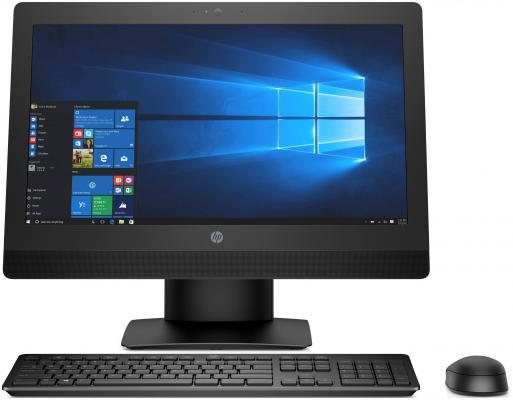 """Моноблок 21.5"""" HP ProOne 600 G3 1920 x 1080 Intel Core i5-7500 8Gb SSD 256 Intel HD Graphics 630 Windows 10 Professional черный 2KR73EA"""