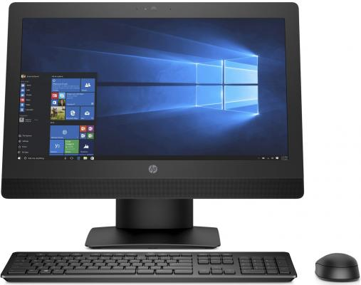 "Моноблок 21.5"" HP ProOne 600 G3 1920 x 1080 Intel Core i5-7500 4Gb 500Gb Intel HD Graphics 630 Windows 10 Professional черный 2KR74EA"