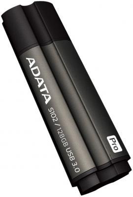 Флешка USB 128Gb A-Data S102 Pro USB3.0 AS102P-128G-RGY серый