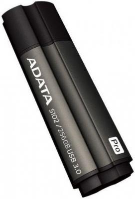Флешка USB 256Gb A-Data S102 Pro USB 3.0 AS102P-256G-RGY серый от 123.ru