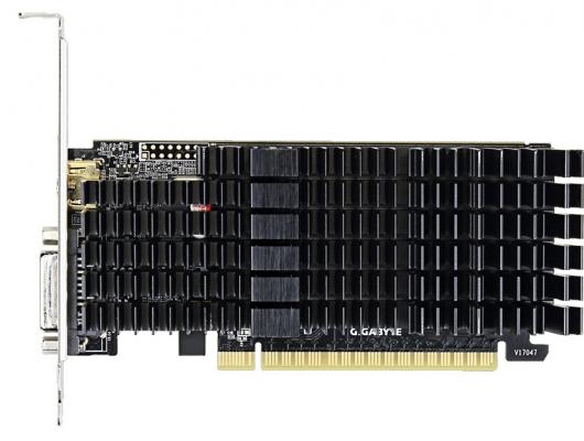 Видеокарта GigaByte GeForce GT 710 GV-N710D5SL-2GL PCI-E 2048Mb 64 Bit Retail (GV-N710D5SL-2GL) видеокарта gigabyte geforce gt 730 gv n730d5 2gl pci e 2048mb 64 bit retail