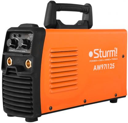 Аппарат сварочный Sturm AW97I125 инверторный инверторный сварочный полуавтомат sturm aw97pa120
