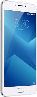 Телефон Meizu M5 Note серебристый белый 5.5 16 Гб LTE Wi-Fi GPS 3G смартфон meizu m5 note белый золотистый 5 5 16 гб lte wi fi gps 3g