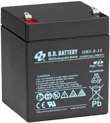 Батарея B.B. Battery HR5.8-12 5.8Ач 12B