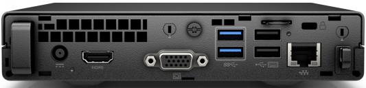"Компьютер 23"" HP 260 G2.5 DM 1920 x 1080 Intel Core i3-6006U 4Gb 500Gb Intel HD Graphics 520 DOS черный 2TP85ES"