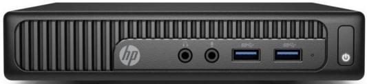 Неттоп HP 260 G2 Intel Core i3-6100U 4Gb SSD 128 Intel HD Graphics 520 Windows 10 Professional черный 2TP19EA