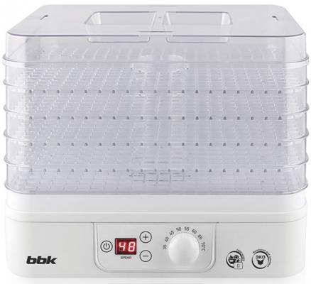 Сушилка для овощей и фруктов BBK BBK BDH303D белый прозрачный