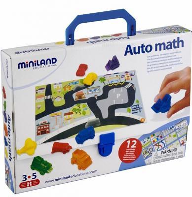 Настольная игра Miniland (миниленд) развивающая АВТОМАТЕМАТИКА 27383 miniland магнитная игра портреты
