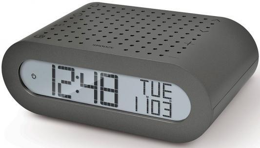 Часы с радиоприёмником Oregon RRM116-g серый