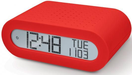 Часы с радиоприёмником Oregon RRM116-r красный