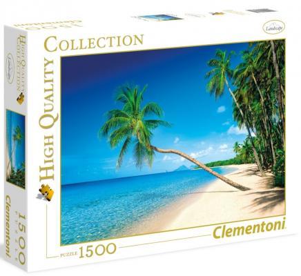 Пазл Clementoni Карибские острова 1500 элементов 31669 пазл clementoni hq щенки лабрадора 1500 31976