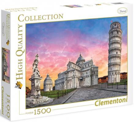 Пазл Clementoni Пизанская башня 1500 элементов 31674 пазл clementoni hq щенки лабрадора 1500 31976