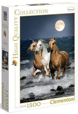 Пазл Clementoni Дикие лошади 1500 элементов 31676 clementoni пазл hq дикие лошади 1500