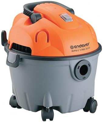Промышленный пылесос ENDEVER Spectre 6010 сухая уборка оранжевый серый пылесосы endever пылесос