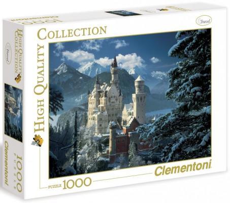 Пазл Clementoni Бавария зима 1000 элементов 31390 пазл clementoni hq щенки лабрадора 1500 31976