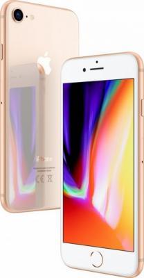 """Смартфон Apple iPhone 8 золотистый 4.7"""" 256 Гб NFC LTE Wi-Fi GPS 3G MQ7E2RU/A от 123.ru"""