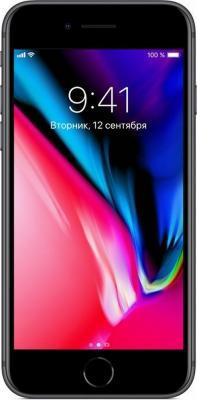 "Смартфон Apple iPhone 8 серый 4.7"" 64 Гб NFC LTE Wi-Fi GPS 3G MQ6G2RU/A"