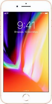 Смартфон Apple iPhone 8 Plus золотистый 5.5 256 Гб NFC LTE Wi-Fi GPS 3G MQ8R2RU/A смартфон apple iphone 8 plus серый 5 5 64 гб nfc lte wi fi gps 3g mq8l2ru a