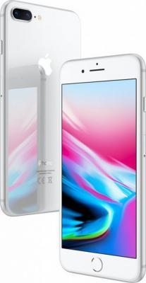 """Смартфон Apple iPhone 8 Plus серебристый 5.5"""" 256 Гб NFC LTE Wi-Fi GPS 3G MQ8Q2RU/A от 123.ru"""