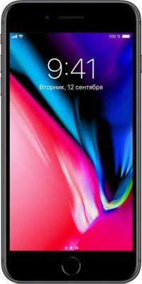 Смартфон Apple iPhone 8 Plus серый 5.5 256 Гб NFC LTE Wi-Fi GPS 3G MQ8P2RU/A смартфон apple iphone xr жёлтый 6 1 256 гб nfc lte wi fi gps 3g mryn2ru a