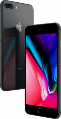 "Смартфон Apple iPhone 8 Plus серый 5.5"" 256 Гб NFC LTE Wi-Fi GPS 3G MQ8P2RU/A от 123.ru"