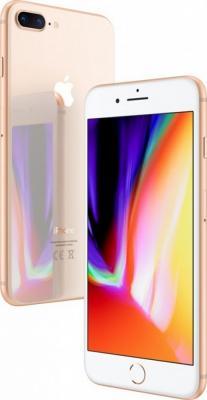 "Смартфон Apple iPhone 8 Plus золотистый 5.5"" 64 Гб NFC LTE Wi-Fi GPS 3G MQ8N2RU/A от 123.ru"