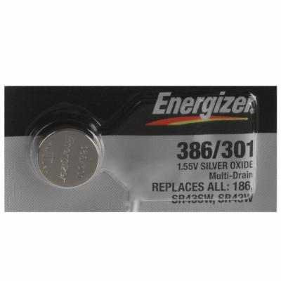 Батарейка Energizer Silver Oxide 386/301 SR43 1 шт 635707