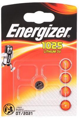 Батарейка Energizer Lithium CR1025 1 шт 610380\E300163500\E300843701