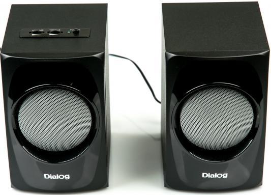 Колонки Dialog AP-20 10Вт черный dialog ap 100