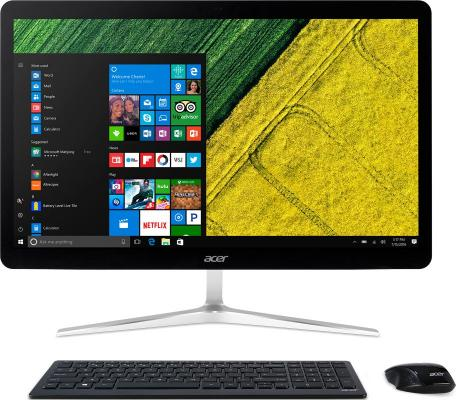 Моноблок 27 Acer Aspire U27-880 1920 x 1080 Multi Touch Intel Core i7-7500U 8Gb 2 Tb Intel HD Graphics 620 Windows 10 Home серебристый черный DQ.B8RER.001