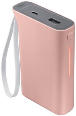все цены на  Портативное зарядное устройство Samsung EB-PA510BRRGRU 5100mAh 1xUSB розовый  онлайн