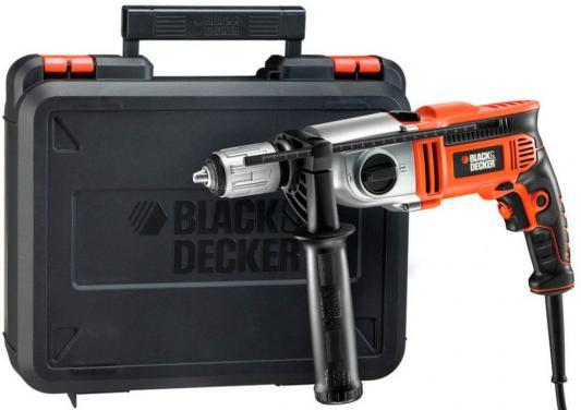 Дрель ударная Black & Decker KR1102K-QS 1100Вт от 123.ru