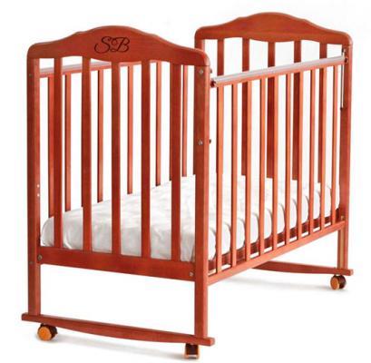 Кроватка-качалка Sweet Baby Lorenzo (noce/орех)