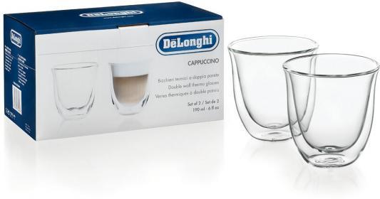 Набор чашек Delonghi Cappuccino 2 предмета (5513214601) кофемашина delonghi ecam 45 760 w белый