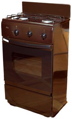 Газовая плита Flama CG 3202 B коричневый flama cg 3202 w белый