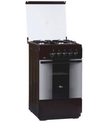 Газовая плита Flama FG 2406 B коричневый
