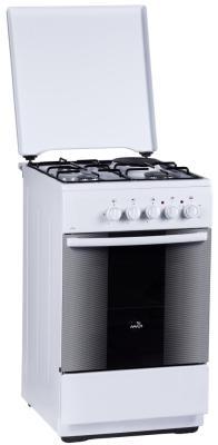 Комбинированная плита Flama RК 23-101 W белый flama cg 3202 w белый