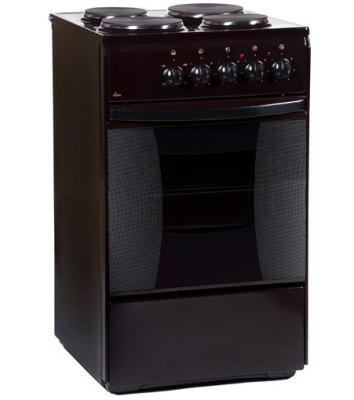 все цены на Электрическая плита Flama AE 1403 коричневый онлайн