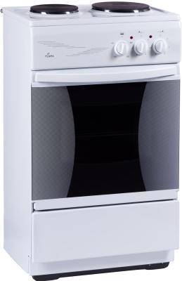 Электрическая плита Flama CE 3201 W белый flama cg 3202 w белый