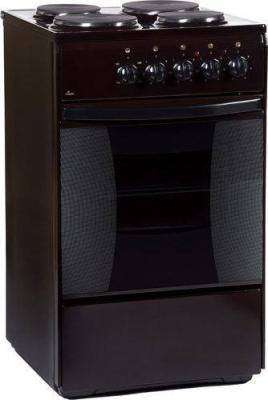Электрическая плита Flama FE 1403 B коричневый