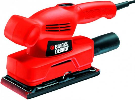 Виброшлифовальная машина Black & Decker KA300-XK