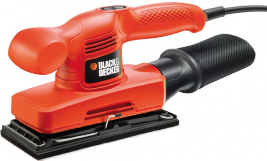 Виброшлифовальная машина Black & Decker KA310-QS