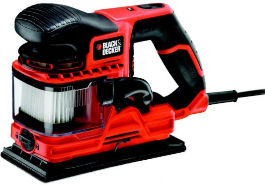 Виброшлифовальная машина Black & Decker KA330E-QS