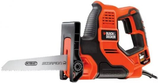 Сабельная пила Black & Decker RS890K-QS 500Вт black decker rs890k пила сабельная