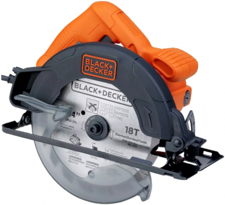 Дисковая пила Black & Decker CS1004-RU 1100Вт пила black decker gkc3630l20