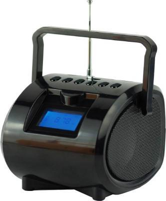 Магнитола Supra BB-104UB черный