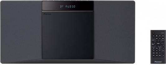 Микросистема Pioneer X-SMC02-B 20Вт черный сабвуфер pioneer ts w106m 250вт 1100вт 4ом