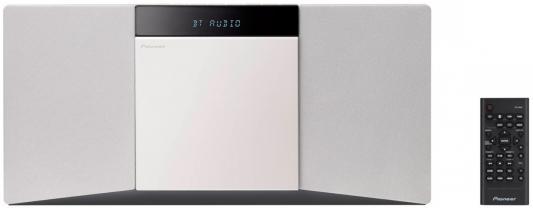 Микросистема Pioneer X-SMC02-W 20Вт белый сабвуфер pioneer ts w106m 250вт 1100вт 4ом