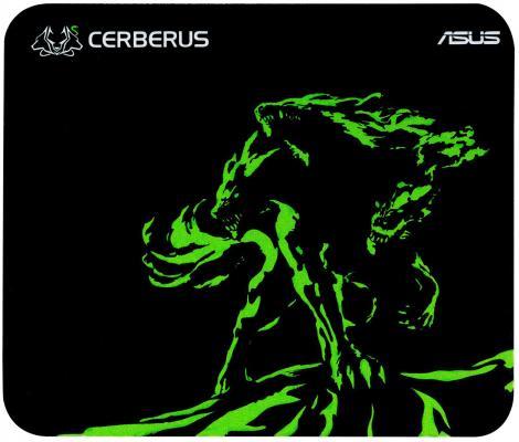 Коврик для мыши Asus Cerberus Mat Mini черный/зеленый 90YH01C4-BDUA00 asus cerberus arctic 400x300